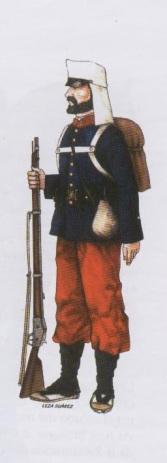 Infantería Republicana Mayo 1873
