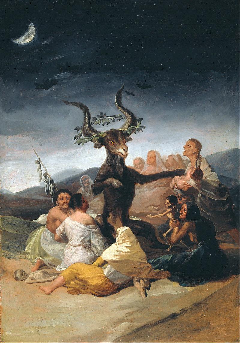 800px-Francisco_de_Goya_y_Lucientes_-_Witches_Sabbath_-_Google_Art_Project